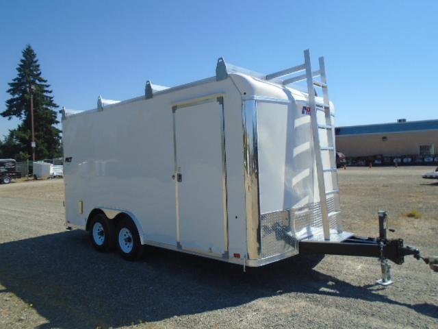 """2022 Pace American Toolbox Cargo 8.5X16 With 6"""" Extra Height / Cabinets / Ladder Racks / Screwless Exterior / Cargo Doors"""