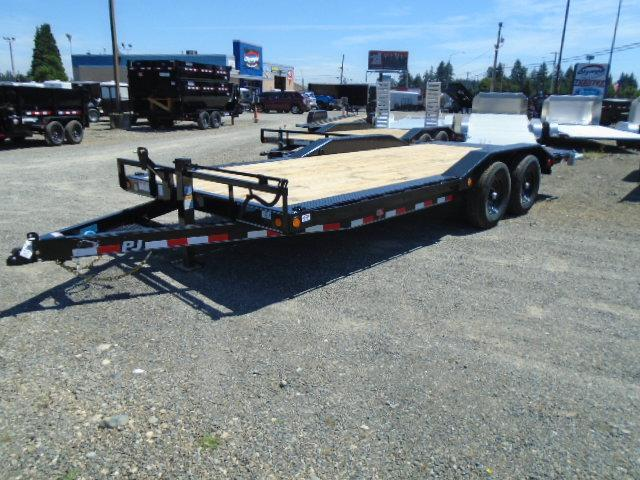 2021 PJ Trailers B620 Equipment Trailer