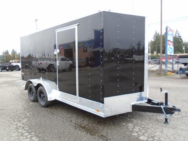 "2022 Cargo Mate E-Series 7x16 7K With 6"" Extra Height / Wedge / Ramp Door"