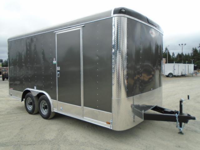 "2021 Cargo Mate Blazer 8.5x16 10K w/6"" Extra Height + Rear Ramp door"