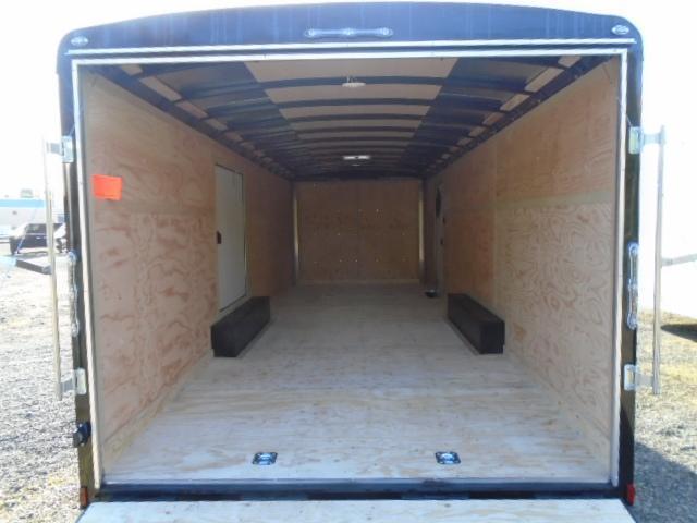 2021 Cargo Mate Blazer 8.5x24 10K With Escape Door / D-Rings / Ramp Door