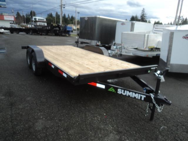 2021 Summit Cascade 7x18 10K Flatbed