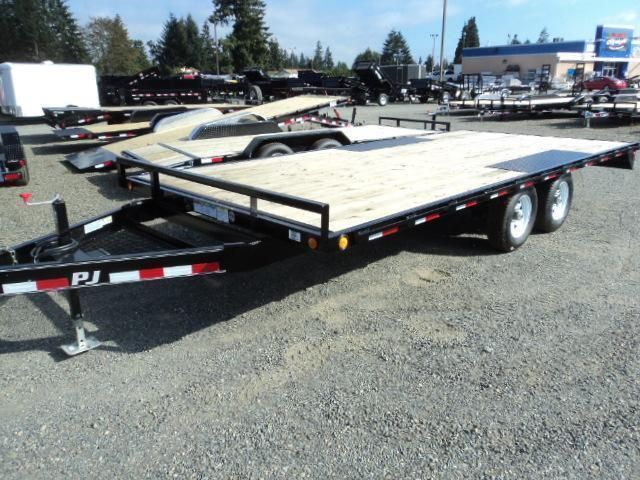 "2021 PJ 8.4X16 10K Deckover 6"" Channel Trailer"