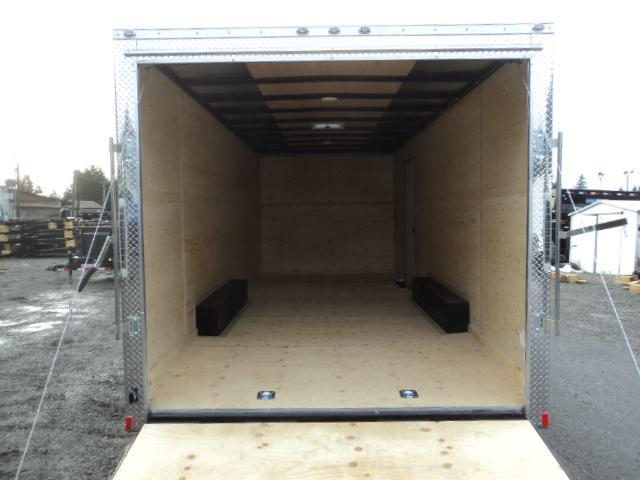 """2021 Cargo Mate E-Series 8.5x20 10K With 6"""" Extra Height / Wedge / D-Rings / Ramp Door"""