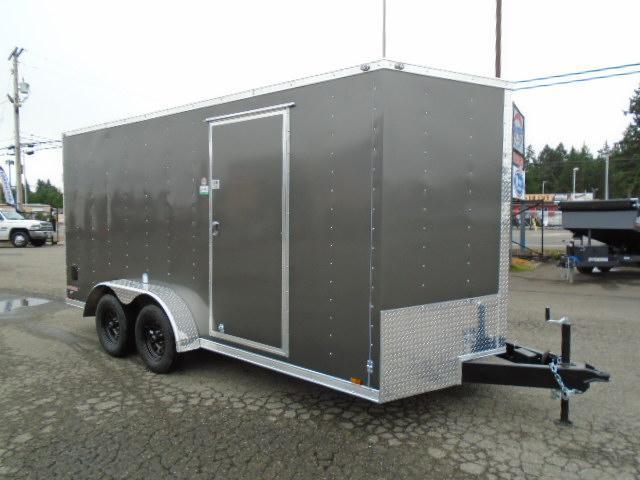 2022 Cargo Mate E-Series 7x16 7K With Wedge / D-Rings / Ramp Door