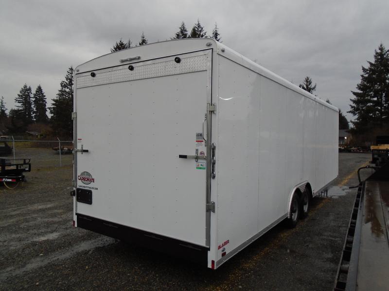 """2021 Cargo Mate Blazer 8.5x28 10K With 12"""" Extra Height / D-Rings / Ramp Door"""