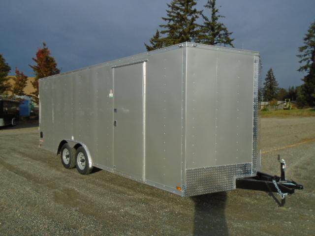 2021 Cargo Mate E-Series  8.5X20 7K w/Ramp Door/D-rings/RV Door