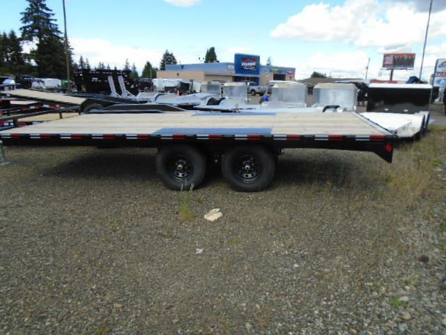 "2021 PJ 8.4X18 10K Deckover 6"" Channel Trailer"