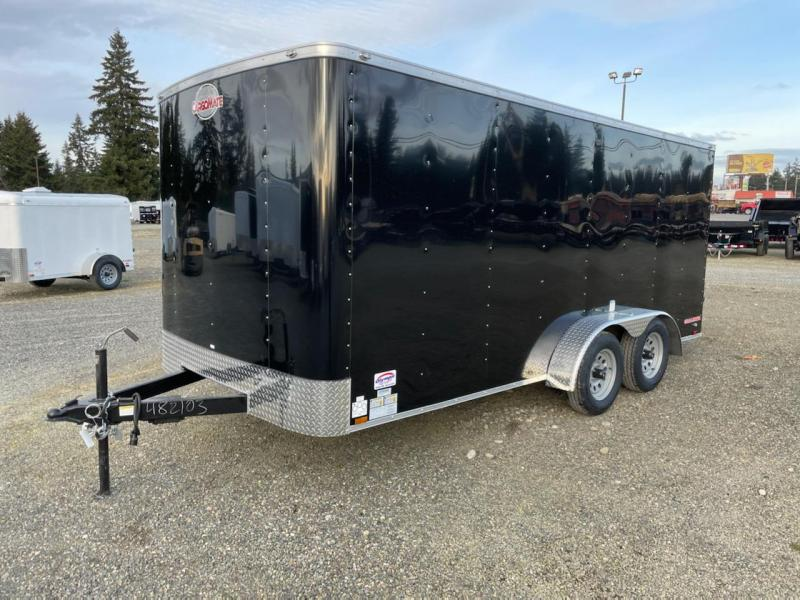 2021 Cargo Mate Challenger 7X16 7K W/Rear Ramp Door