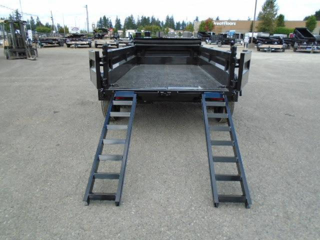 """2022 Load Trail 5X10 7K w/Tarp Kit/18"""" Sides/Spare Tire Mount/5 Amp Rapid Charger/Side Mount Ramps"""