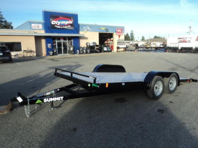 2021 Summit Alpine 7x16 7K Tilt Car / Racing Trailer