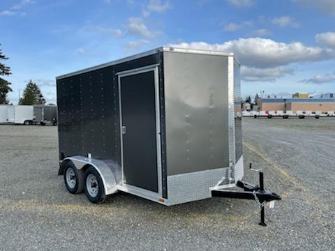 2021 Cargo Mate E-Series 7x12 7K With Wedge / Ramp Door