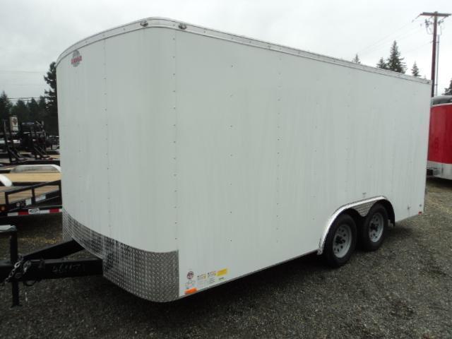 2021 Cargo Mate Challenger 8.5x16 7K w/Rear Cargo Doors/Vent