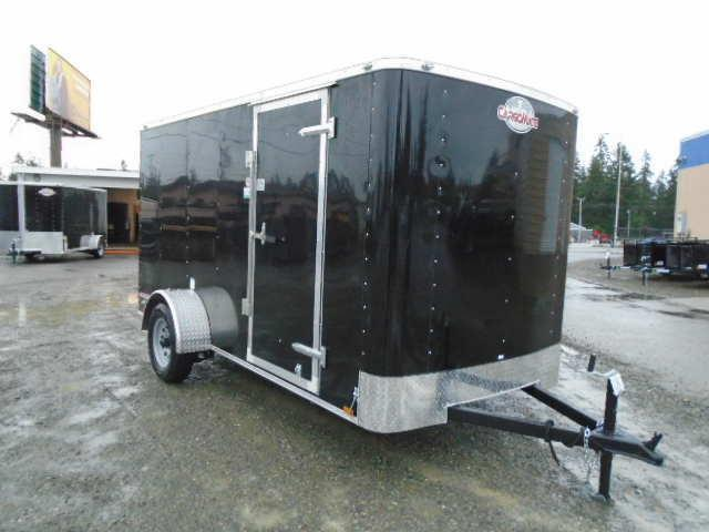 2021 Cargo Mate Challenger 6x12 w/Rear Ramp Door & Roof Vent Enclosed Cargo Trailer