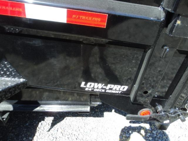 2021 PJ 7X14 Gooseneck 14K Low-Pro Dump Trailer