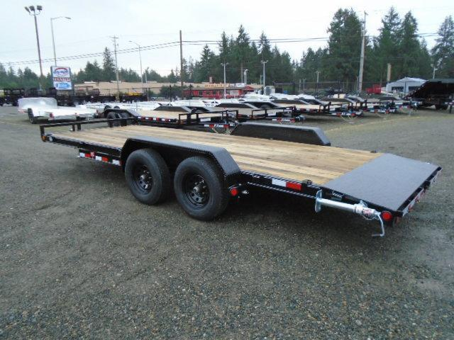 2021 PJ Trailers 7X20 10K W/Dovetail Channel Equipment Trailer