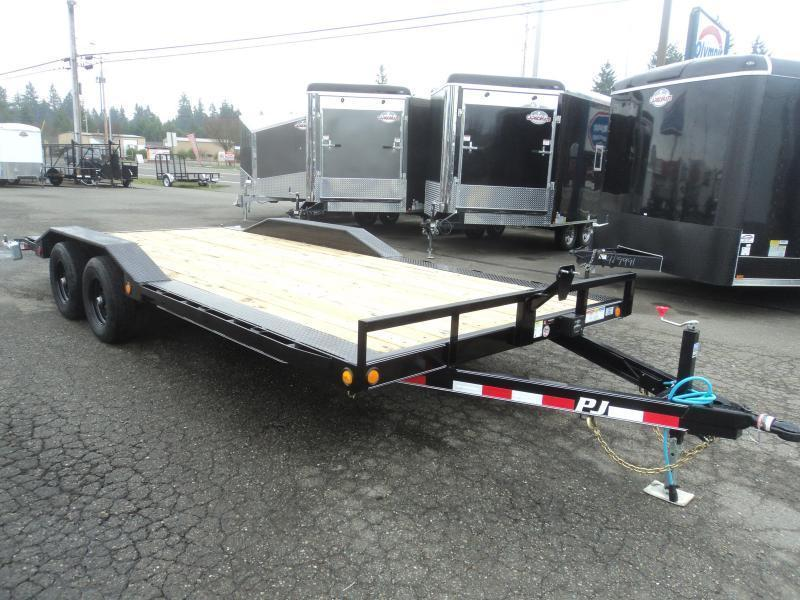 2021 PJ Trailers 8.5X20 10K Channel Buggy Hauler Trailer