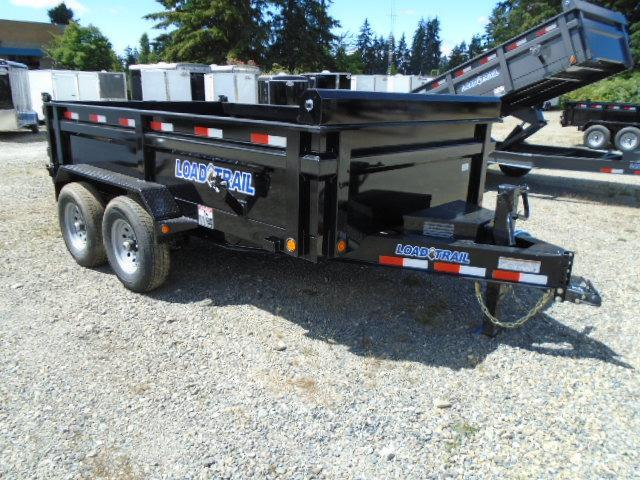 2021 Load Trail 7X12 14K w/Tarp Kit/10K Jack/5 AMP Charger/Drop Axle
