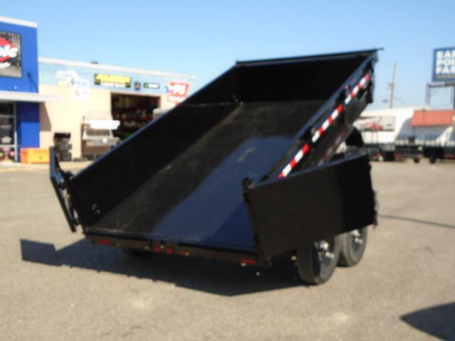 2021 PJ 7x12 14K Dump with 10K Jack/Tarp Kit