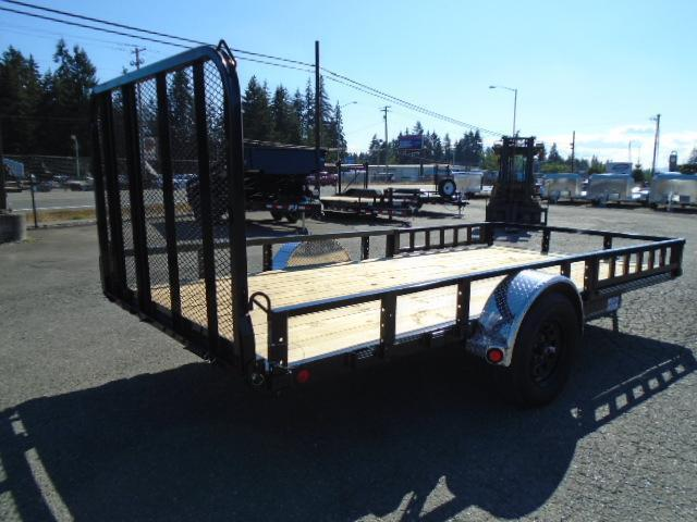 2021 PJ Trailers 6.5X14 Utility w/Side Mount ATV Ramps
