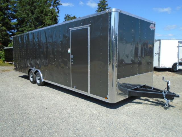 """2021 Cargo Mate E-series 8.5X28 10K With 6"""" Extra Height / Wedge / D-Rings / Ramp Door"""
