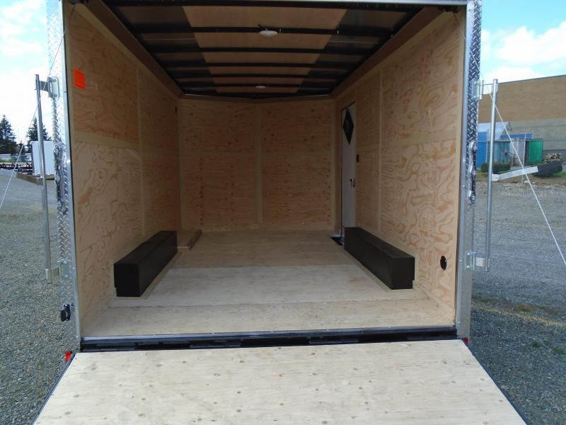 2021 Cargo Mate E-Series 8.5x14 7K w/Extra Height/Ramp