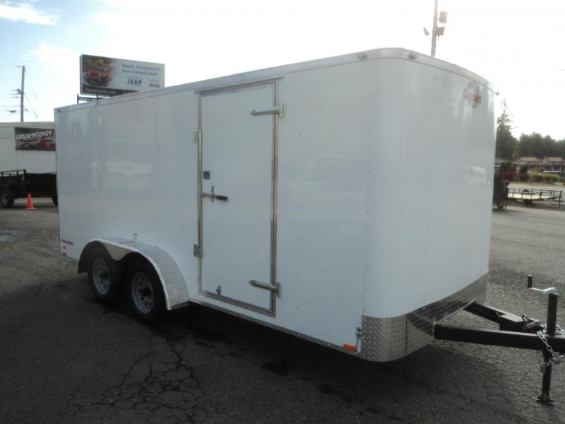 2021 Cargo Mate Challenger 7X16 7K With Rear Cargo Doors