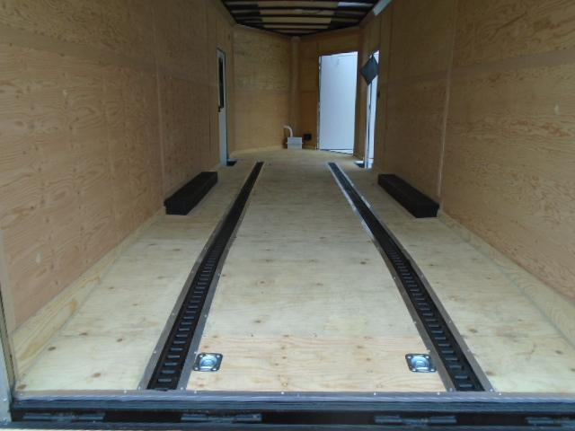 """2021 Cargo Mate E-Series 8.5x24 14K w/5 Foot Wedge & 18"""" Extra Ht Enclosed Cargo Trailer"""