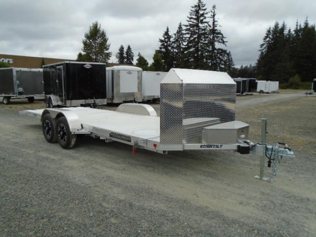 2021 Aluma 8220 H TILT Anniversary Edition Car Trailer