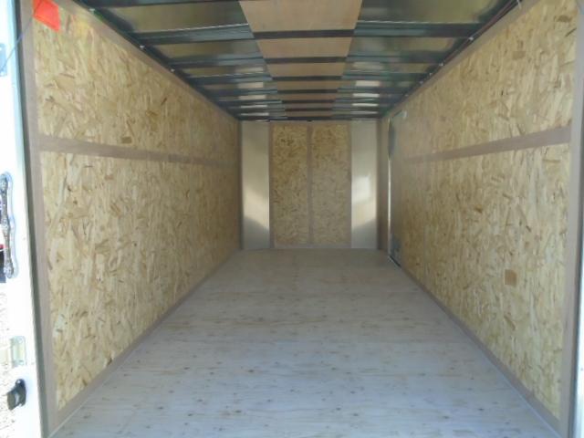 2021 Cargo Mate Challenger 7X16 7K W/Rear Ramp Door
