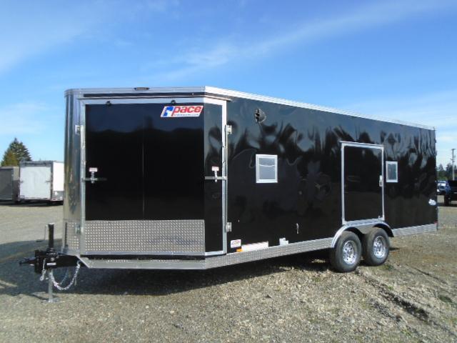 2022 Pace American Aerosport Auto 8.5x25 10K Enclosed Cargo Trailer