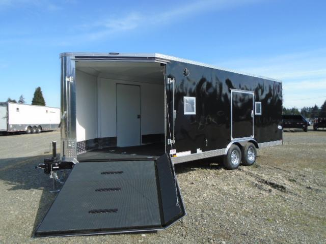 "2022 Pace American Aerosport Auto 8.5x25 10K With 6"" Extra Height / Ramp Door"