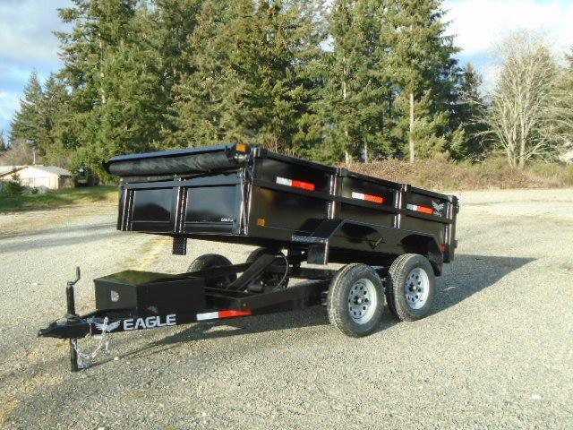 2021 Eagle Trailer 6x10 7K Dump Trailer w/Tarp Kit