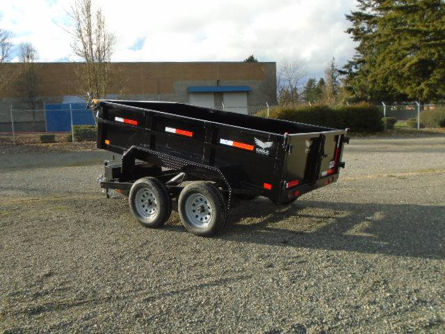 2021 Eagle Trailer 6x10 7K Dump Trailer w/Tarp Kit