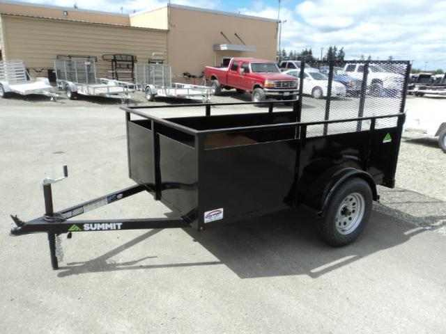 2021 Summit Alpine 5X10 Single Axle Utility Trailer