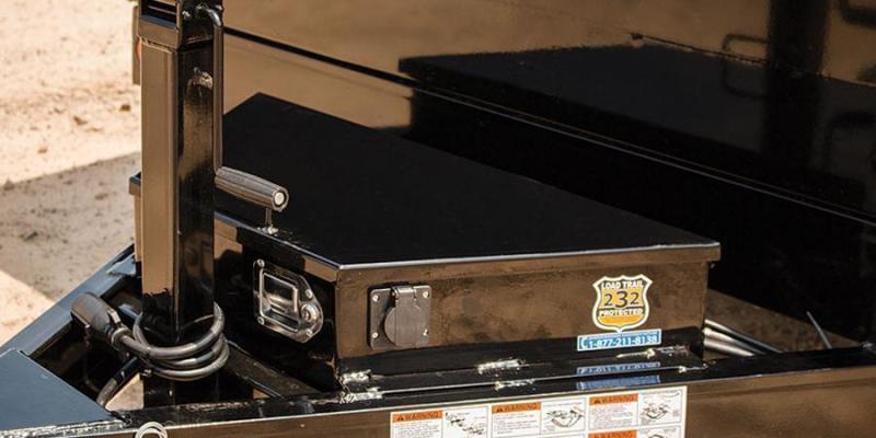 2021 Load Trail 7X16 14K Dump w/Tarp Kit/Rapid Charger/Scissor Lift