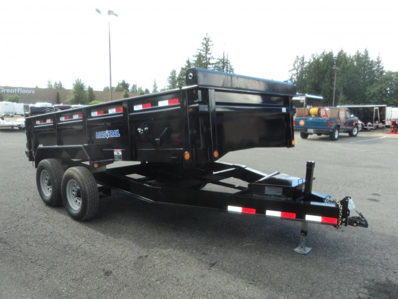 2021 Load Trail 7X16 14K Dump w/Tarp Kit/Rapid Charger/Scissor Lift