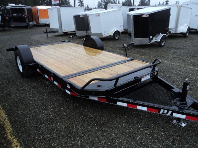 2021 PJ Trailers 16' Single Axle HD Tilt Trailer
