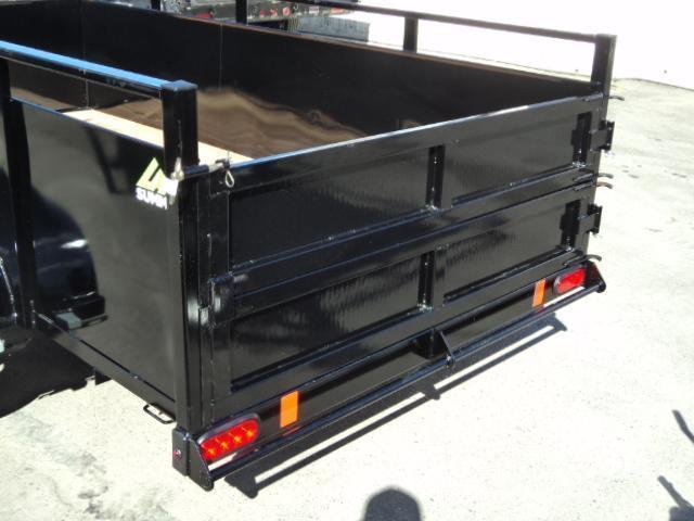 2021 Summit Alpine 5X8 Single Axle W/Split Ramp Utility Trailer