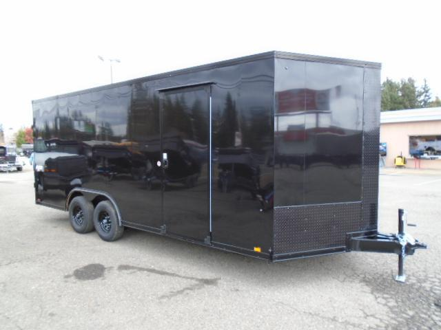 """2022 Pace American Journey Auto SE 8.5x20 10K With 6""""  Extra Height / Black Out Package / Ramp Door"""