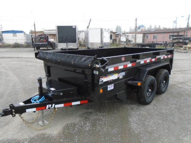 2021 PJ 6x12 10K Dump w/Tarp Kit/Ramps/D-Rings
