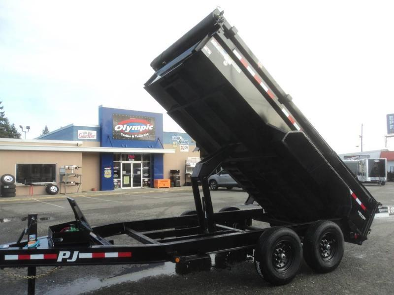 2021 PJ 7x16 14K Dump with 10K Jack/Tarp kit