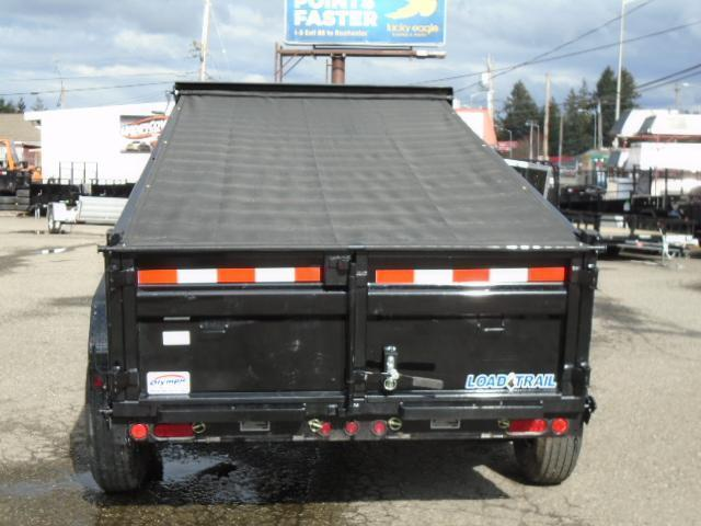 2021 Load Trail 6X12 14K Dump With Tarp Kit/Ramps/Spreader Gate