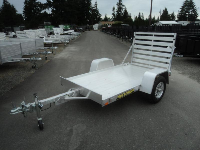 2021 Aluma 5X8 WITH RAMP Utility Trailer