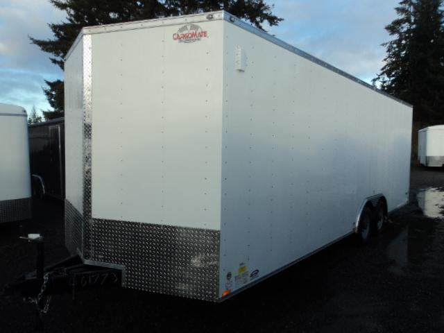 2020 Cargo Mate E-series 8.5x24 10K w/Spare Tire/Extra Height/D-rings