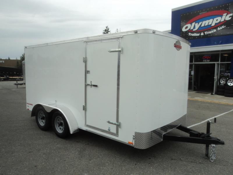 2021 Cargo Mate Challenger 7X14 7K With Ramp Door / Vent
