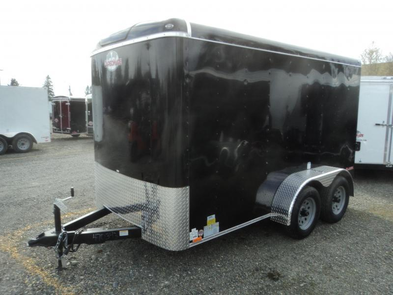 2021 Cargo Mate Blazer 6X12 7K Tandem Axle Cargo / Enclosed Trailer