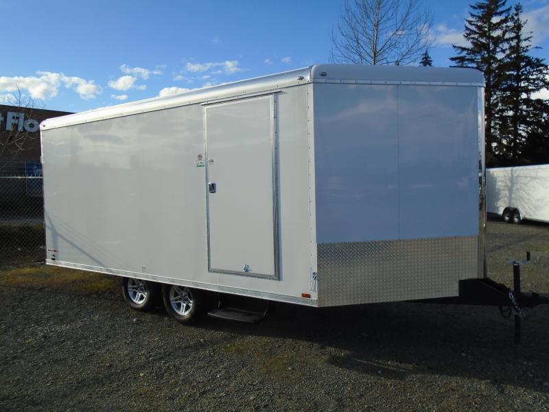 2021 Cargo Mate Snowbird 8.5x20 7K Snowmobile Trailer