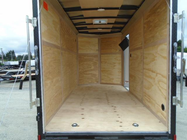"2021 Cargo Mate E-Series 6x12 With 6"" Extra Height / Wedge / Ramp Door"