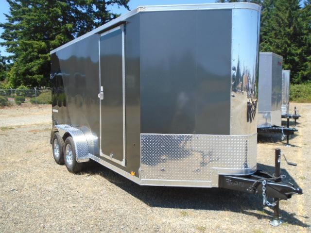 """2022 Pace American Cargo Sport 7X14 +2 Foot Bullnose With 6"""" Extra Height / Ramp Door"""